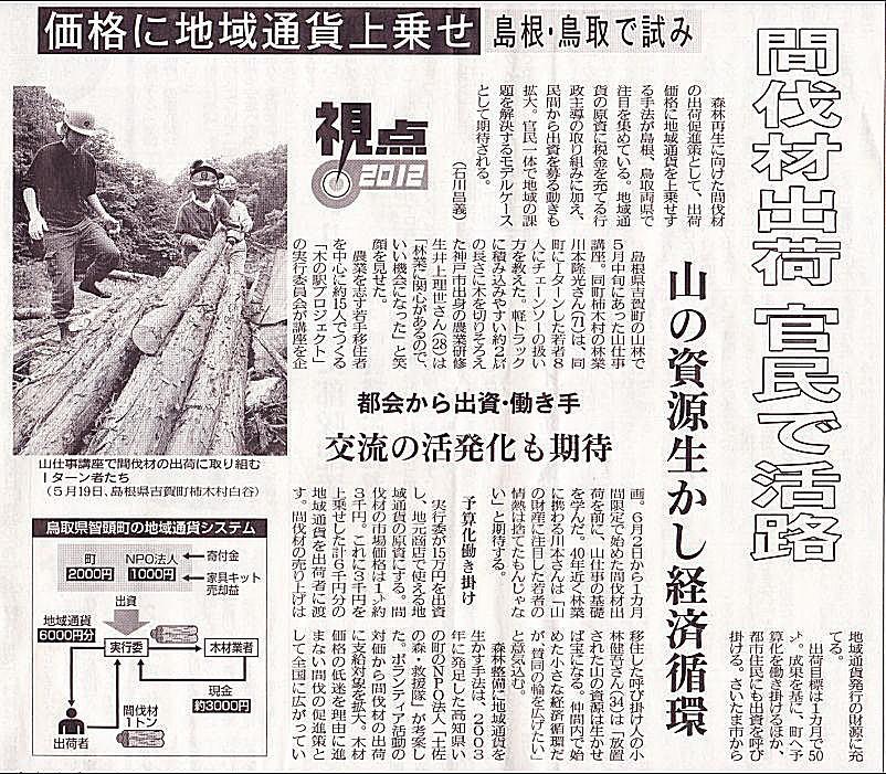 新聞記事(2012/06/29)