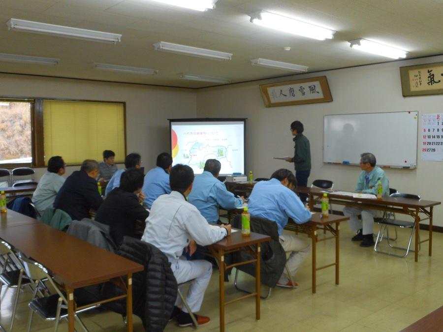 H29年2月23日朝倉地区森林管理推進協議会視察研修3